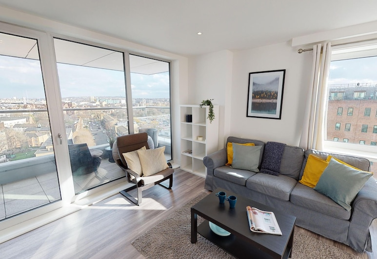 3 Bedroom Apartment in Canary Wharf, Londres, Appartement, 3 chambres, Coin séjour