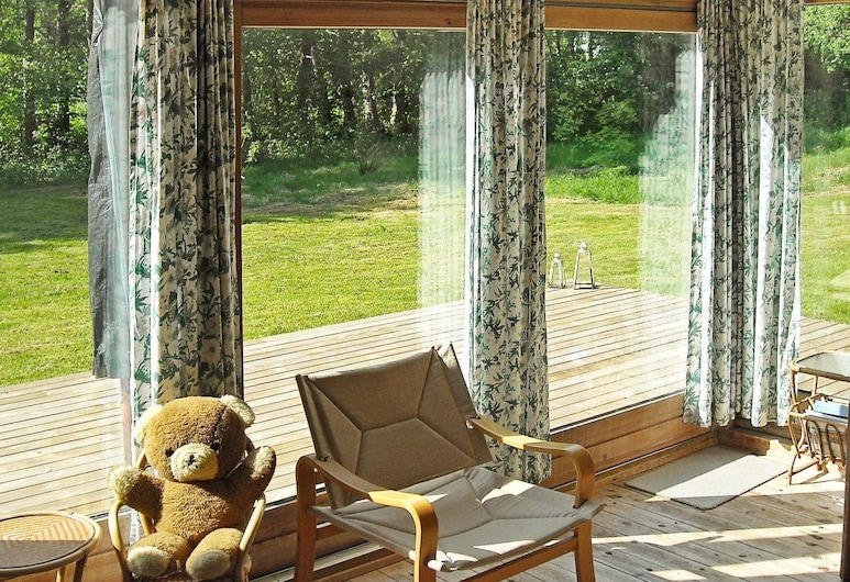 Delightful Holiday Home in Hadsund Denmark With Terrace, Hadsund, Balkon