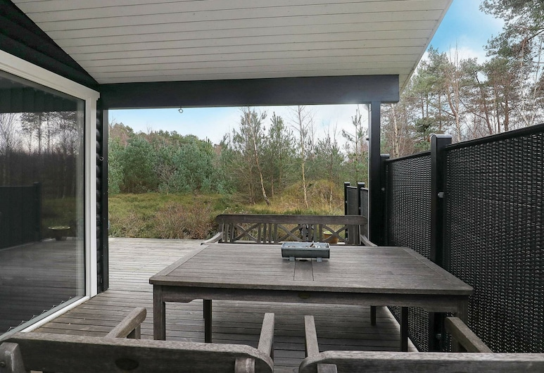 Peaceful Holiday Home in Nordjyland With a Scenic View, Læsø, Parveke