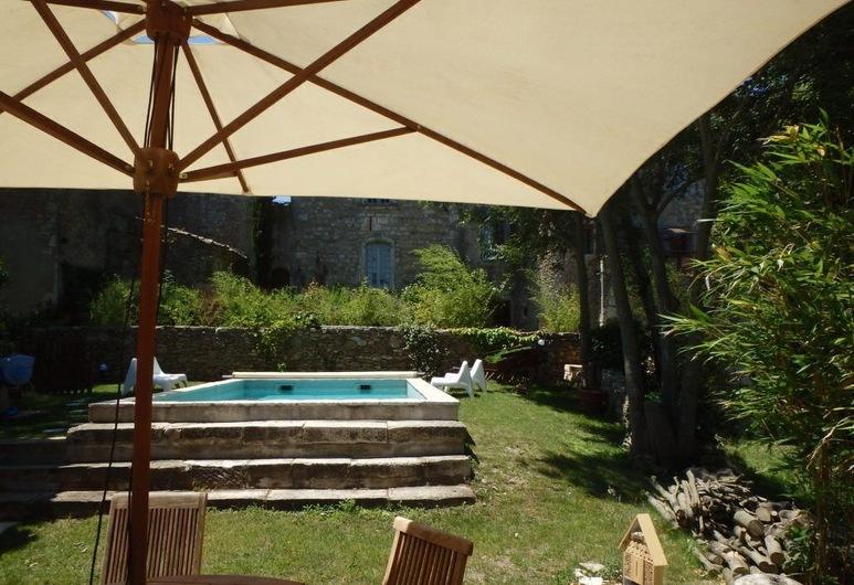 Prieuré d'orniols, Goudargues, Outdoor Pool