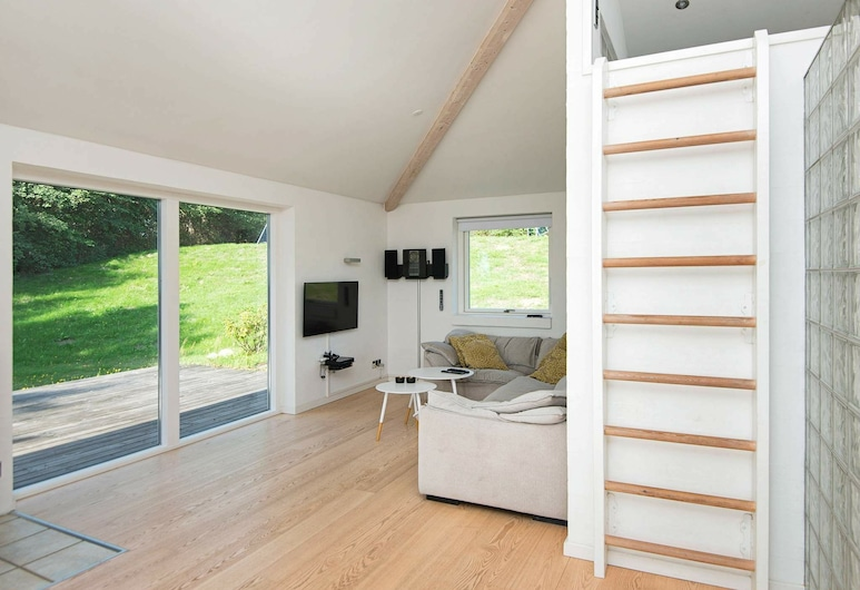 Secluded Holiday Home in Jutland With Sea Nearby, Knebel, Living Room