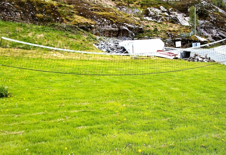 4 Star Holiday Home in Hebnes, Suldal, Property Grounds