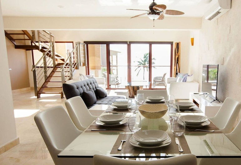 El Faro 304 Coral 3bedroom Penthouse, 卡曼海灘, 私人廚房