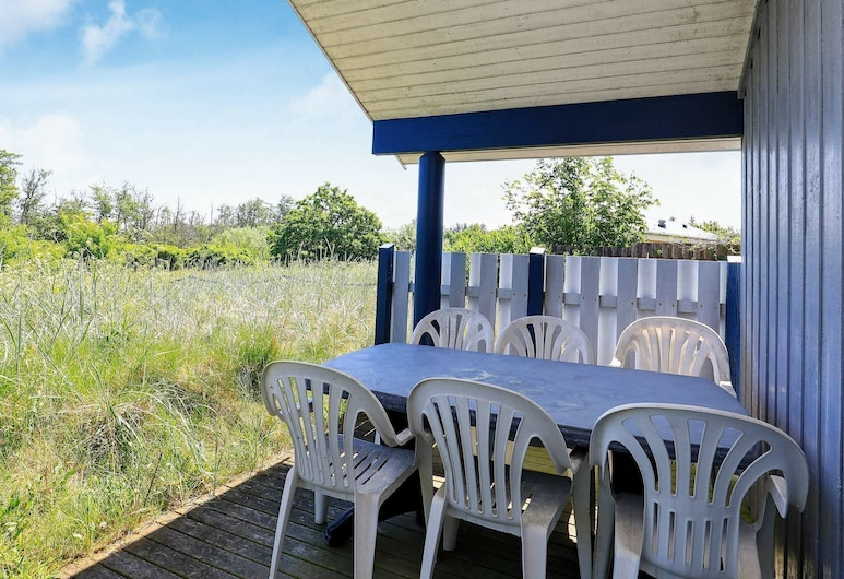 Secluded Holiday Home in Jutland by the Sea, Jerup, Balcone