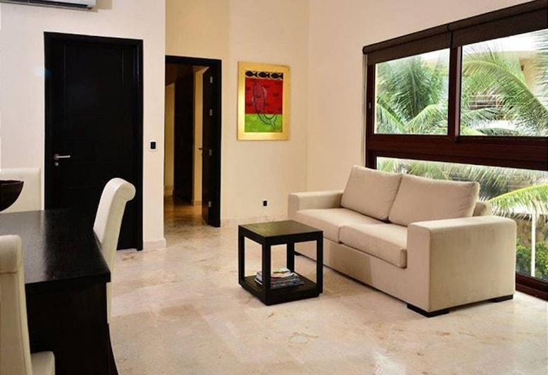 El Faro 206 Surf 1 Bedroom, Playa Del Carmen, Καθιστικό