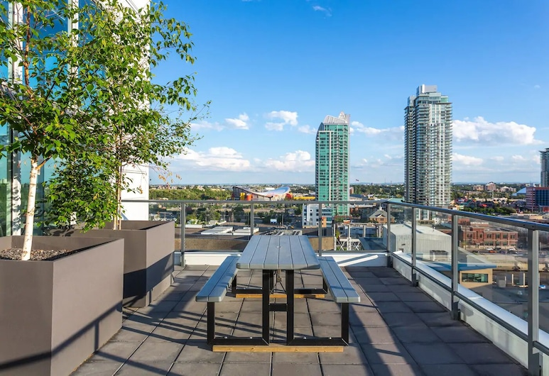 Trendy Dt Condo - 17th Ave+parking, Pets, Calgary, Balkon
