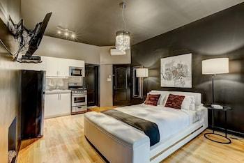 Bild vom Welcoming Studio Downtown Montreal On Drummond Nearritz in Montreal
