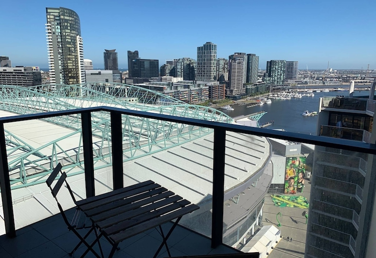 City Apartment Marvel Stadium Free Parking/tram, Docklands, Rõdu