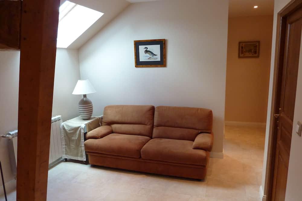 Doppelzimmer (Val es Dunes) - Wohnzimmer