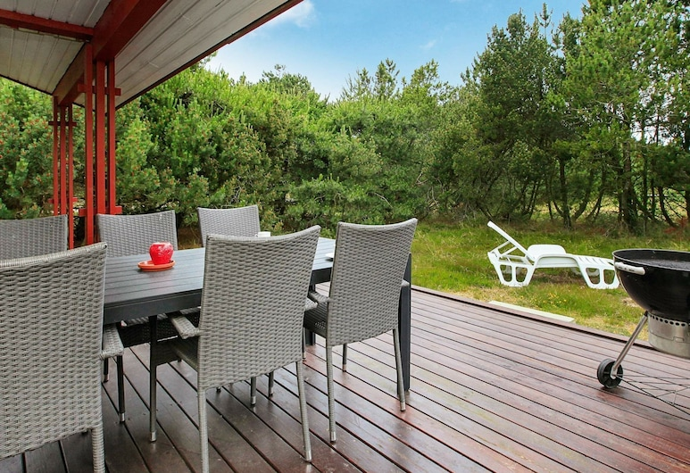 Tranquil Holiday Home in Nordjylland With Terrace, Læsø, Balkon