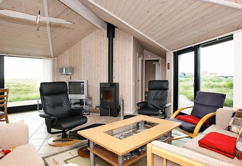Luring Holiday Home in Frøstrup With Sauna, Frostrup, Καθιστικό
