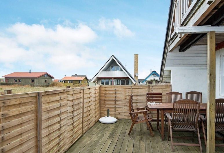 Refreshing Holiday Home in Harboøre Close to Sea, Harboøre, Balkón