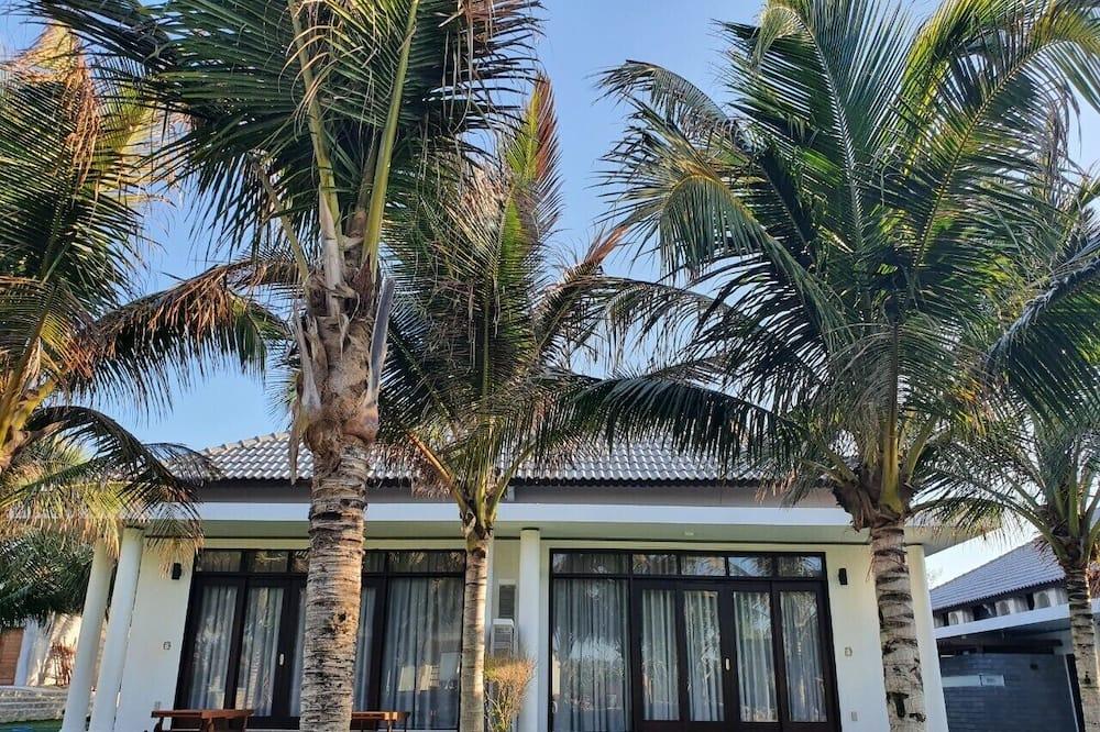 Camera Deluxe, di fronte alla spiaggia (Bungalow) - Terrazza/Patio