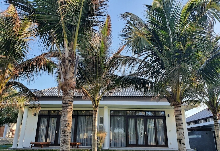 Starlight Villa Beach Resort & Spa, Ham Thuan Nam, Deluxe-Zimmer, Strandnähe (Bungalow), Terrasse/Patio