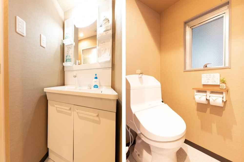 Tradiční čtyřlůžkový pokoj (Japanese Style) - Koupelna