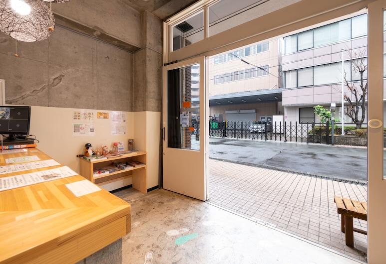 Sakuragawa no Kokoro Hostel, โอซาก้า, บริเวณประตูทางเข้า