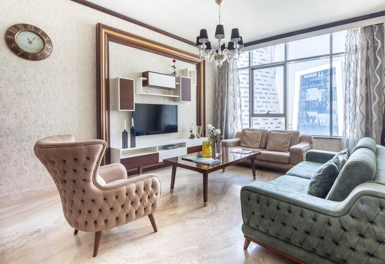Dashing 2BR Apartment in Business Bay - Sleeps 5!, 杜拜