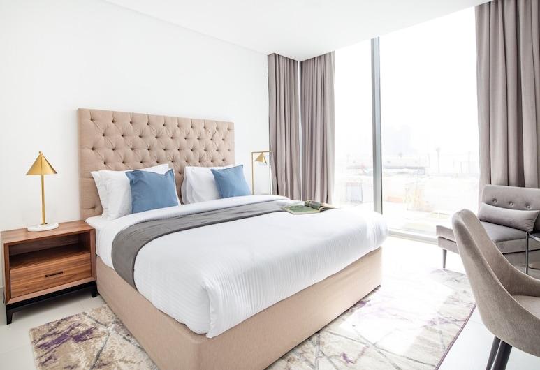 Lavish 1BR Apartment With 2 Balconies - Palm Jumeirah, Dubajus, Vidus
