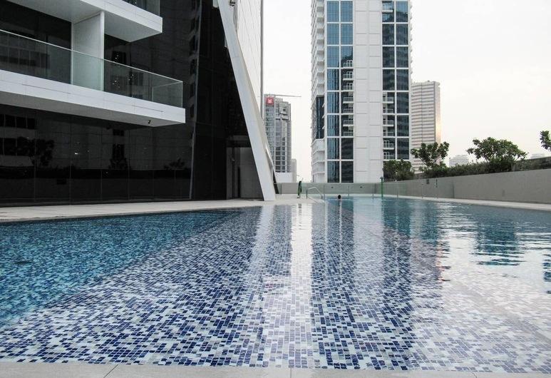Cozy & Spacious Studio Apartment in Burj Khalifa District, Dubai, Interni