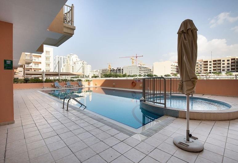 Bright & Spacious 1BR in JVC - Sleeps 3!, Dubai, Insida