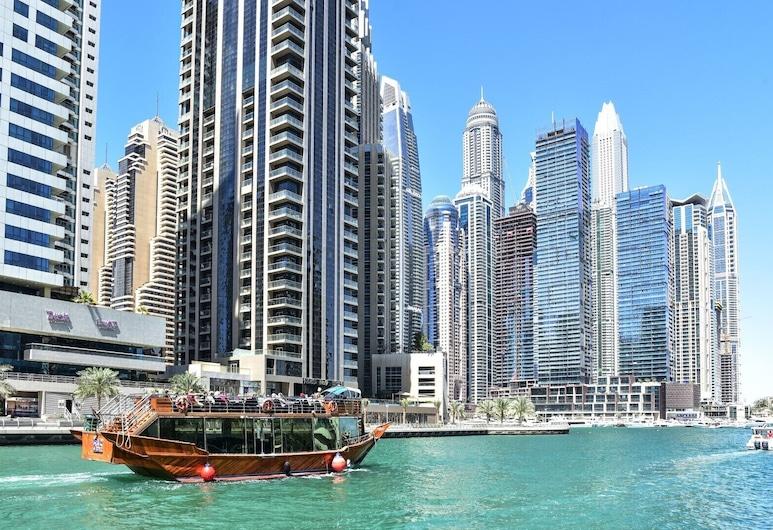 Exquisitely Decorated Studio Apartment in Dubai Marina, Dubaj, Wnętrza