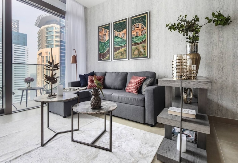 Chic And Stylish 1BR With Grand Marina Views!, 杜拜