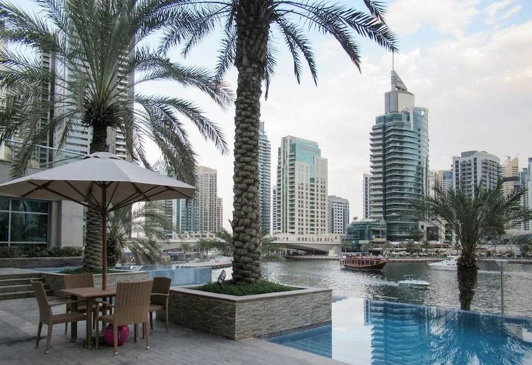 Cool & Bright 1BR w/ Exhilarating Marina Views!, Dubai, Insida