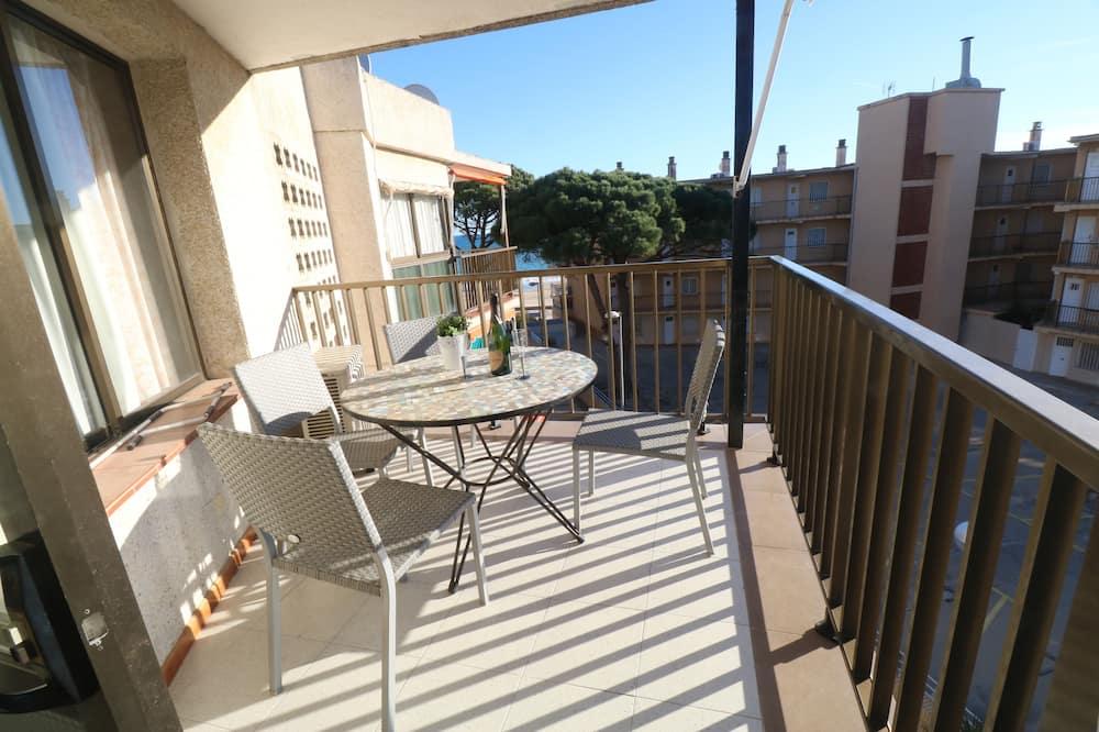 Dzīvokļnumurs, divas guļamistabas, skats uz jūru - Balkons