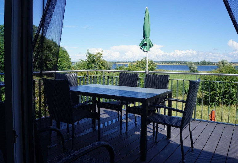 Spacious Sea View Mansion in Malchow, Poel, Balkon