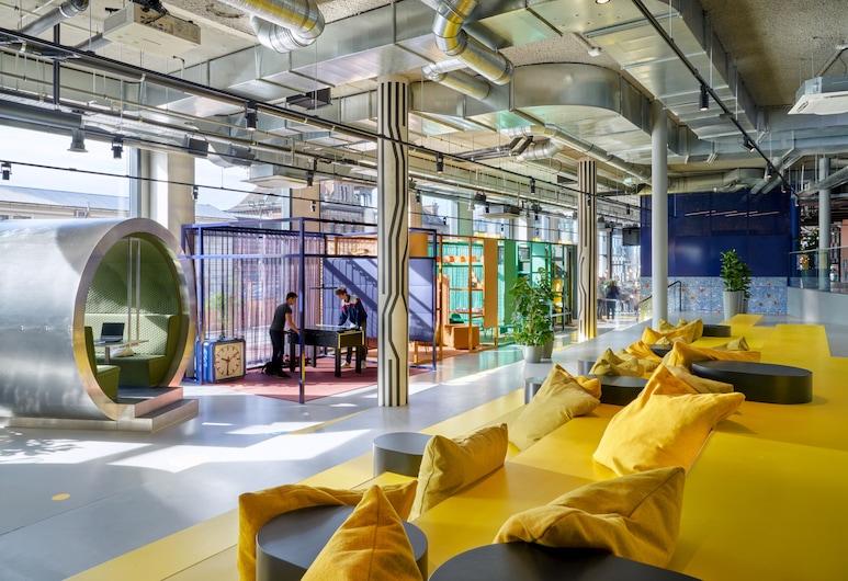 The Student Hotel Delft, Delft, Lobby lounge
