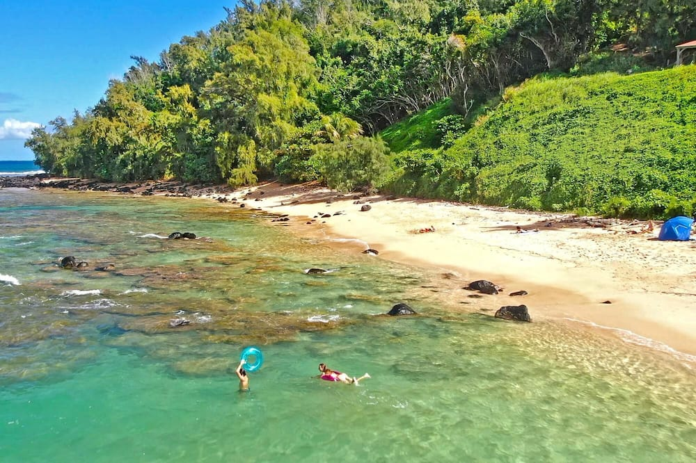 Casa, várias camas (Moloa'a Bay Cottage) - Praia