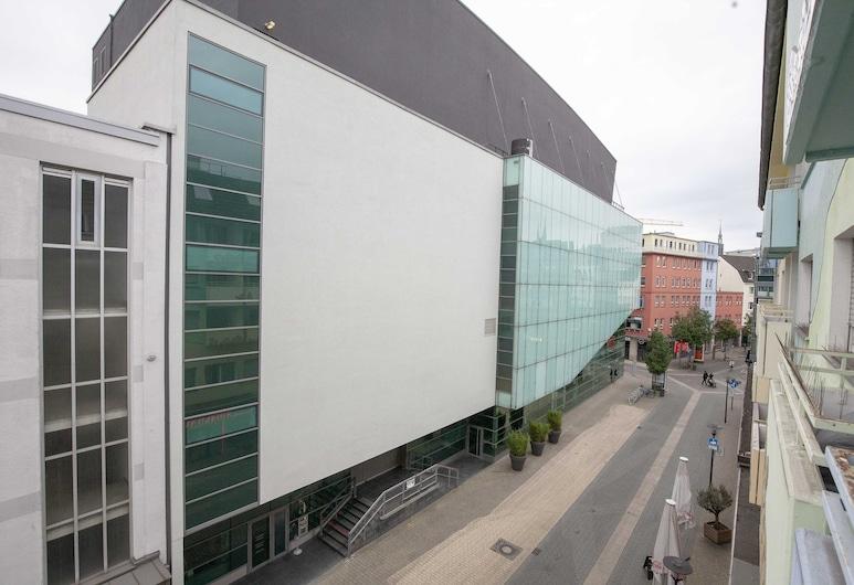Apartment am Konzerthaus, Dortmundas, Apartamentai, balkonas, Vaizdas iš balkono