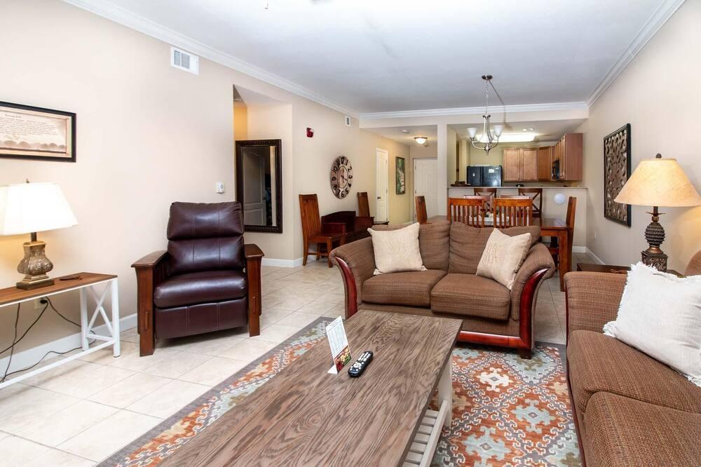 Soukromý byt, více lůžek, výhled na hory (Mountain View Resort 3307 3 BD/2BA Pi) - Obývací pokoj