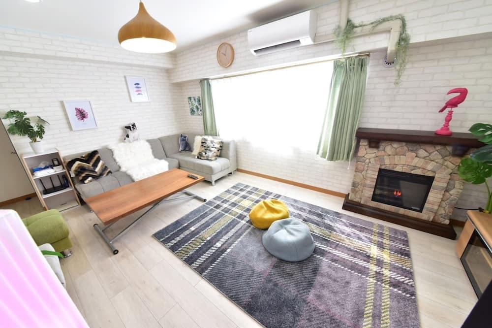 Chambre, 3 chambres - Salle de séjour