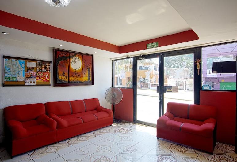 Hotel Bicentenario, Ciudad Madero, Sala de estar en el lobby