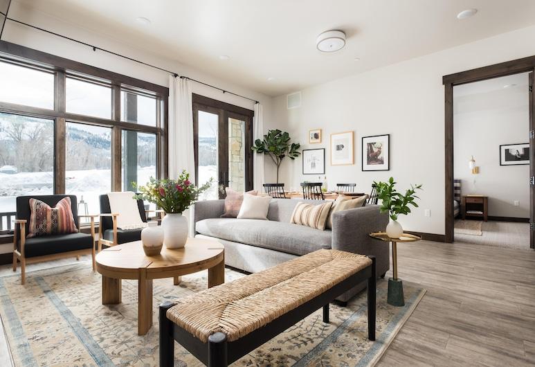 Blackstone 107, Park City, Ferienhaus, Mehrere Betten (Blackstone 107), Wohnzimmer
