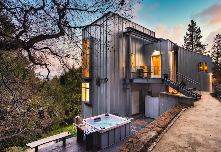 Blue Steel - Ultramodern Architectural Masterpiece w Gorgeous Views, Santa Rosa, Casa, várias camas (Blue Steel - Ultramodern Architectura)