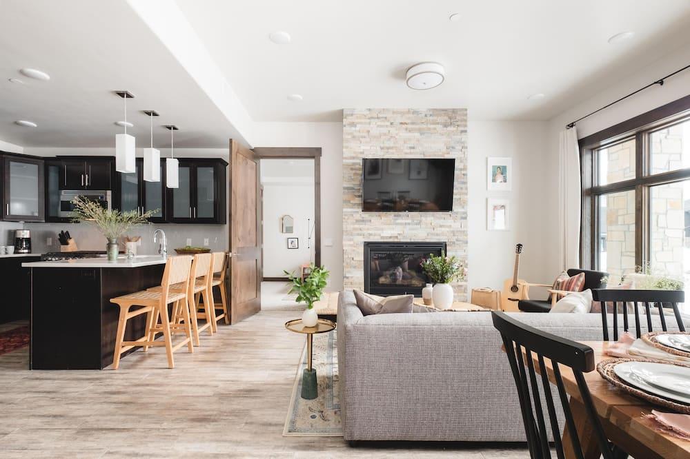 Hus, flere senger (Blackstone 106  (ADA)) - Stue