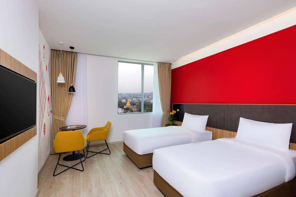 슈피리어룸, 싱글침대 2개, 시내 전망 - 객실