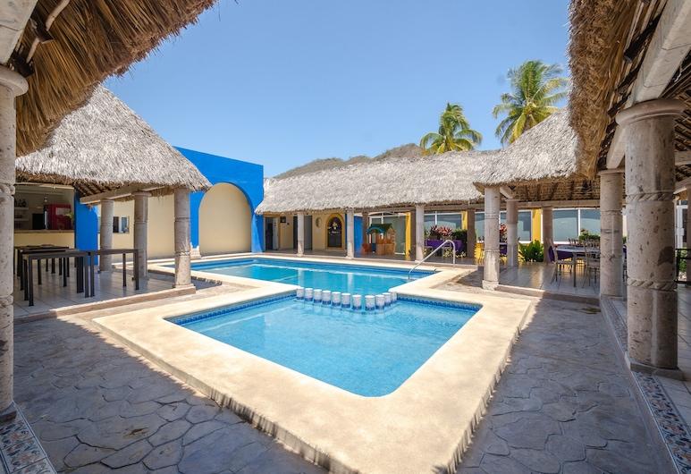 Hotel Yauco, 羅薩里奧, 室外游泳池