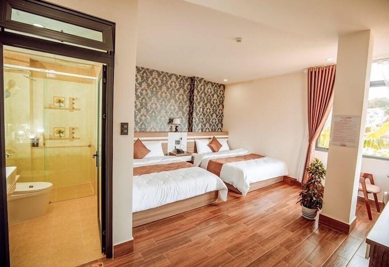 An Khang Hotel Dalat, 大叻, 家庭房, 城市景观, 客房