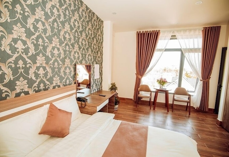 An Khang Hotel Dalat, Da Lat, Deluxe Double Room, City View, Guest Room