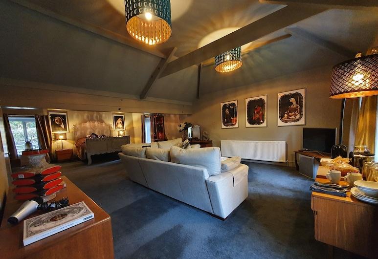 Wern house, Pontypool, Deluxe-sviitti, Oleskelualue