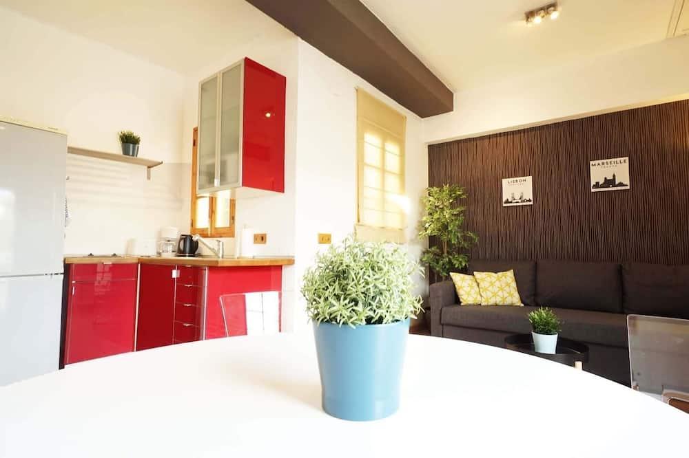 Penthouse, 1 Schlafzimmer - Wohnbereich
