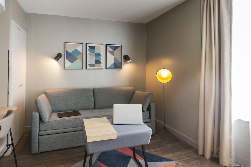 Twin Room, 1 Bedroom - Living Area
