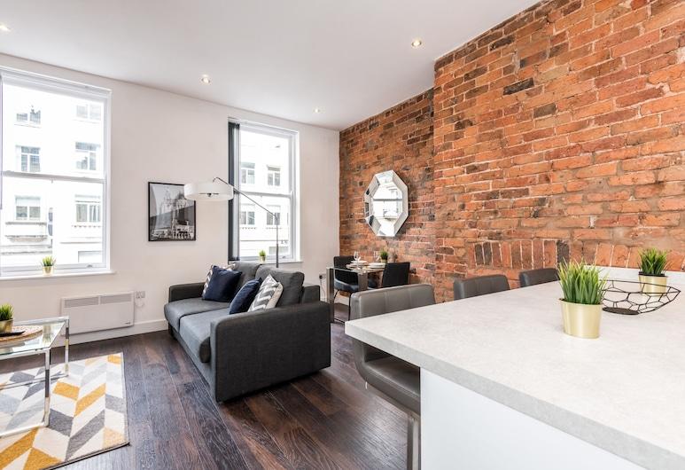 Prestige Stay Aparthotel - Castle Street, Liverpool, Apartment, 1 Bedroom, Living Area