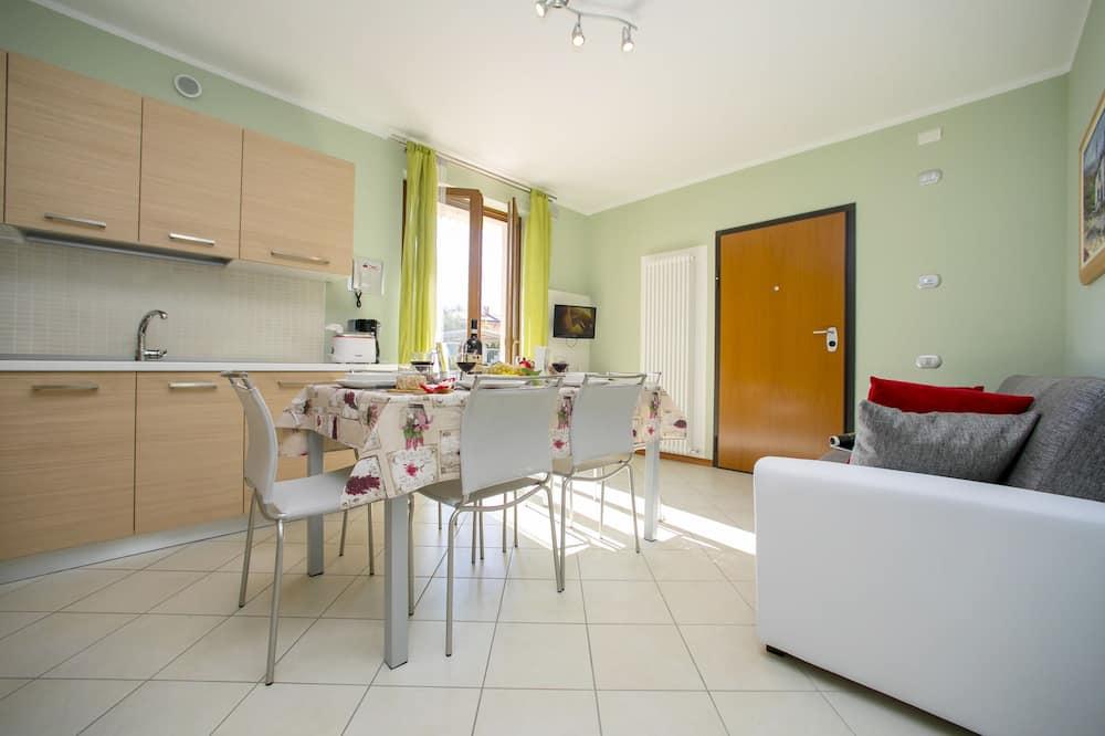 Family Διαμέρισμα, Περισσότερα από 1 Κρεβάτια, Στον κήπο (Appartamento Raggio di Sole 2) - Καθιστικό