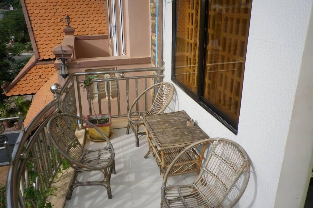 Familien-Vierbettzimmer - Balkon