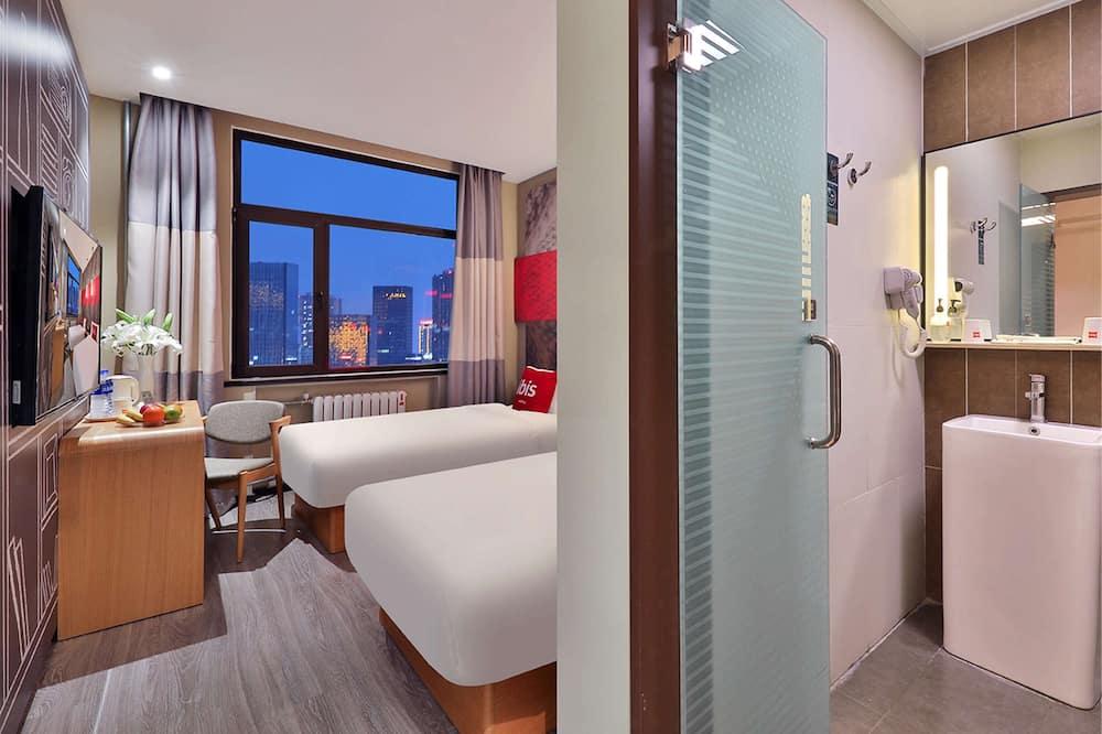 غرفة ديلوكس مزدوجة - سرير مزدوج - غرفة نزلاء