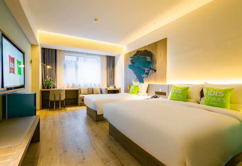 Ibis Styles Xi'an Bell and Drum Tower Square Muslim Quarter, Xi'an, Familienzimmer, Zimmer